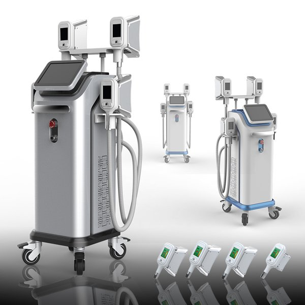 2019 New fat freezing body slimming cryolipolysis Machine 4 handles Cryotherapy Treatment Thigh and Arm Lift CE