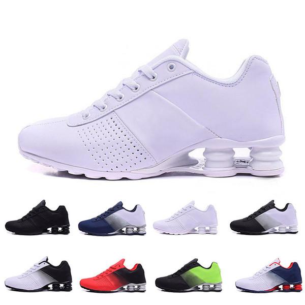 2019 Знаменитые DELIVER OZ NZ 809 Дизайнерские кроссовки Мужские кроссовки Triple All White Спортивная ходьба Бег Спортивные кроссовки Размер 40-46