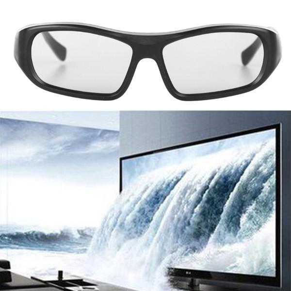 Occhiali stereo 3D passivi circolari polarizzati RD3 neri per cinema 3D Real D 3D
