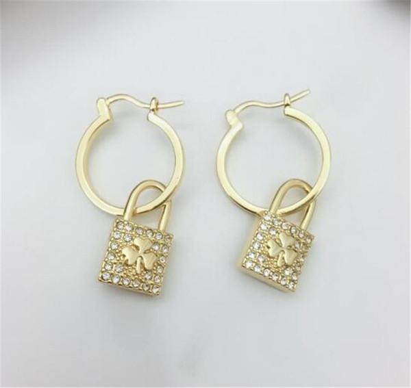 bijoux de luxe S925 boucles d'oreilles en argent sterling C D sac en forme de boucles d'oreilles pour les femmes de mode chaude