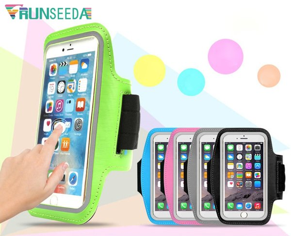 Runseeda Running Sports Armband Bag Waterproof Mobile Phones Arm Bag Cell Phone Pouch For Jogging Fishing Cycling Riding Fitness #149313