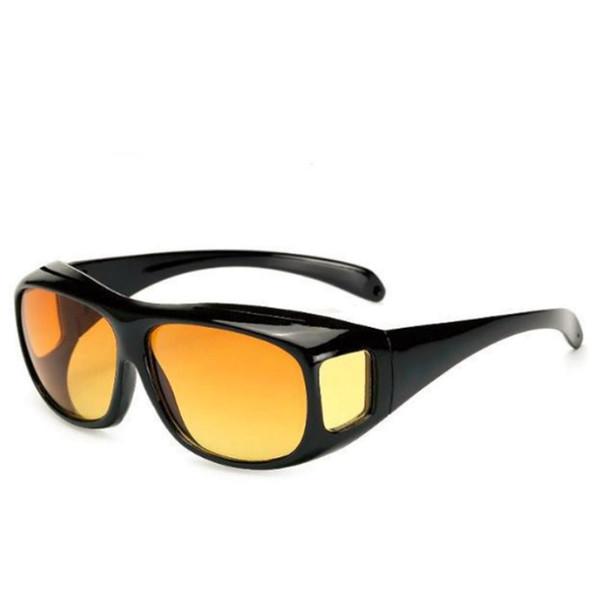 High-End vetri polarizzati Occhiali di visione di HD da sole da uomo miopia Notte di guida Occhiali da sole Set