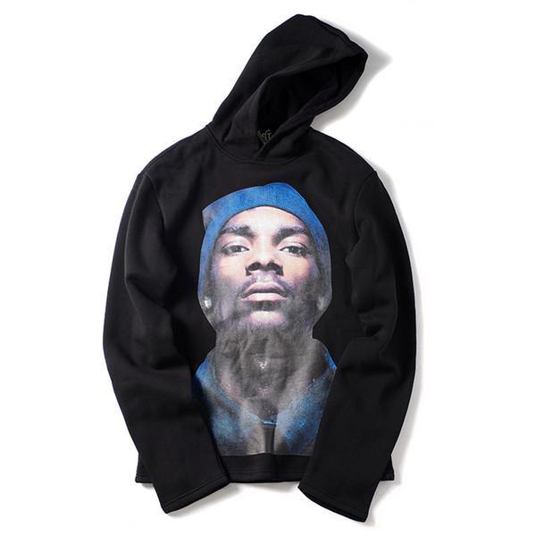19SS New 2019 Men Doggy Dogg Style Hoodies Hoody Hooded Sweatshirts Velvet Cotton Drake Thicken Fleece Street Hip Hop #e101