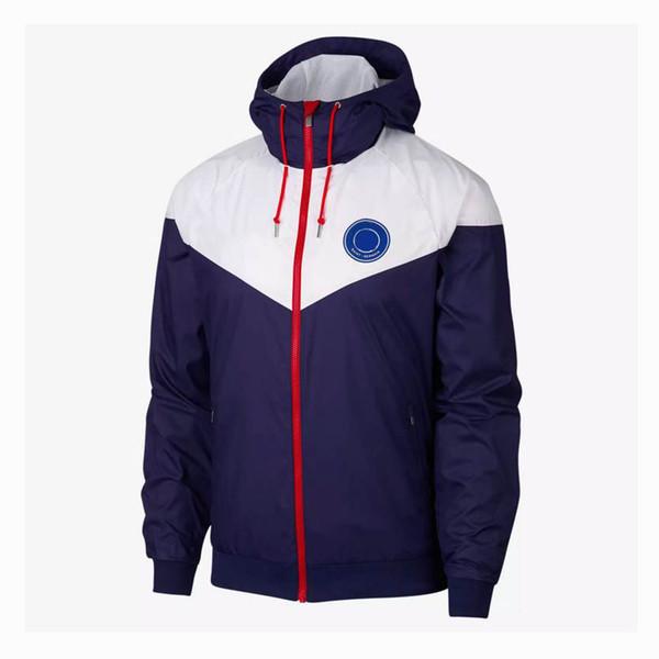 Hot Design Designer Men Women Windbreaker Football Club Team Jackets Sports Street Fashion Zipper Sportswear Hoodies Running Coats CE98265
