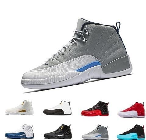 new Winterize 12 Gym Red 12s mens basketball shoes Michigan WINGS bulls Flu Game the master black Sport trainer sneakers