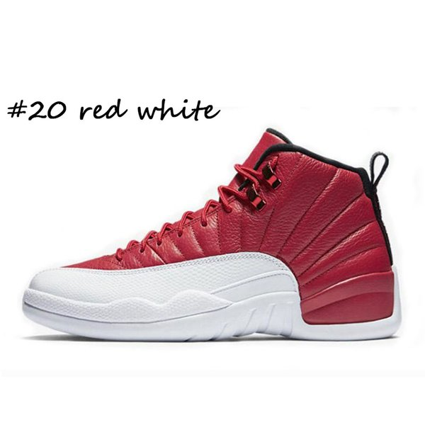 #20 red white