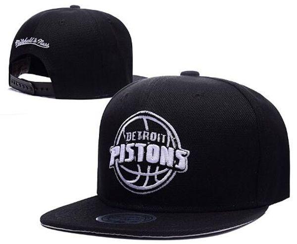 Envío gratis Barato Detroit hat DET cap snapback Sombreros Gorra de béisbol de ala plana Tamaño del equipo Gorra de béisbol Classic Retro Fashion 01