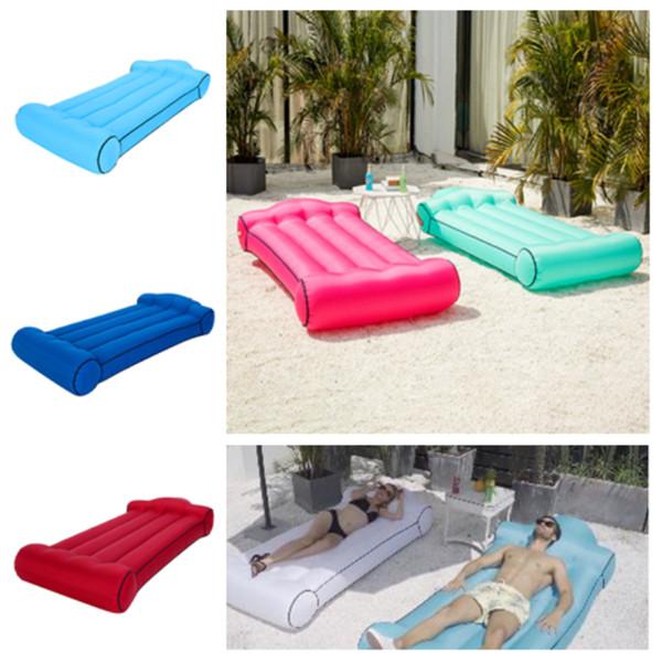 heiße Luftmatratze im Freien bewegliches Wasser aufblasbares Sofa kampierende Matratze Spielraumbettauto-Rücksitzabdeckung aufblasbares Poolbett T2I5176