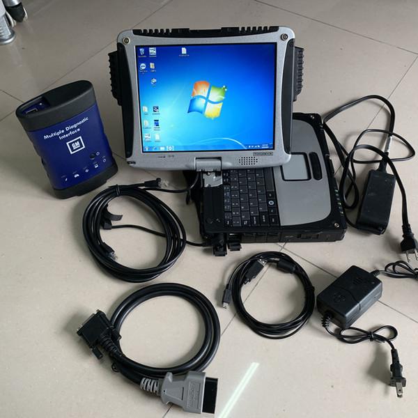 Für GM MDI mit WIFI Multiple Diagnostic Interface mit GDS2 Tech2win und CF-19 Laptop mdi-Diagnosescanner installiert