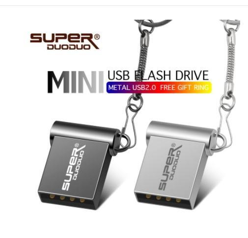 Promoção super mini usb flash drive de metal 64 GB 32 GB 16 GB 8 GB 4 GB flash drive portátil 128 GB memory stick Pendrive disco flash De Armazenamento