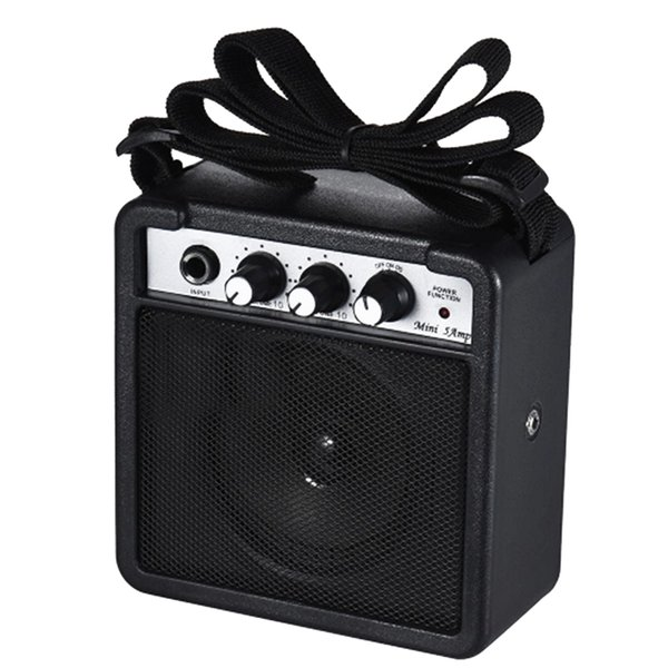 Mini 5 Wa9V alimenté par batterie Haut-parleur Amp pour Acoustique / Guitare électrique Ukulele haute sensibilité