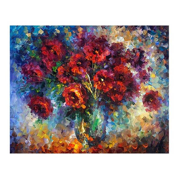 """40""""x30"""" Still life flower oil painting porch European-style hand-painted oil painting restaurant porch fireplace decoration painting"""