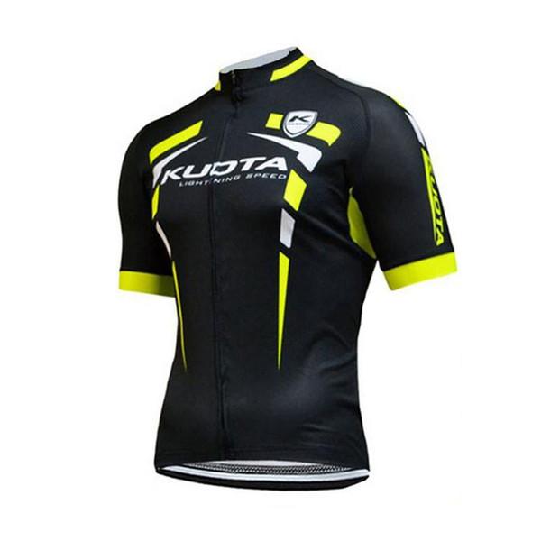 2019 KUOTA Classique Hommes à manches courtes Maillot cyclisme vélo Shirt Vtt Uniforme Vêtements Vélo Vêtements Maillot Ropa Porter Ciclismo