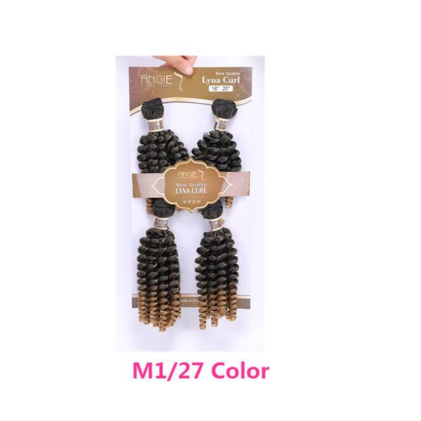 M127 Fumi 4pcs cabelo encaracolado