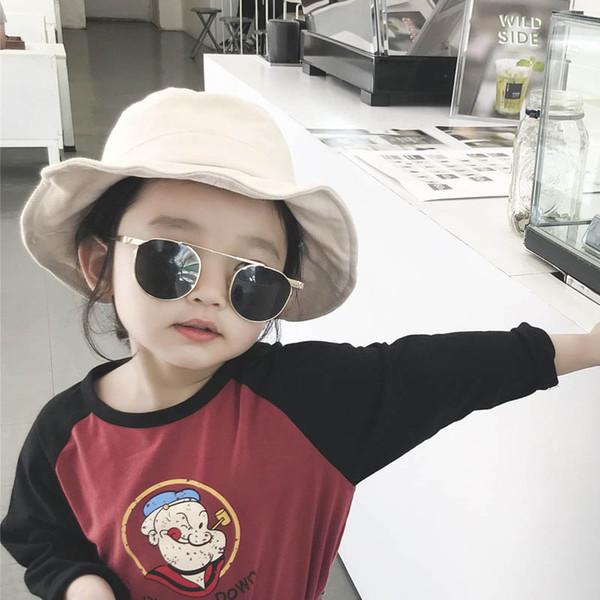 Cappelli per bambini coreani cappelli per bambini cappelli firmati per bambini Cappelli per bambini Cappelli per bambini Cappelli per ragazze Cappelli per occhiali da sole Cappellini accessori per designer 2-5t A6090