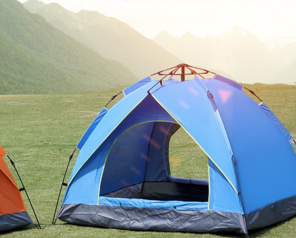 top popular Throw tent outdoor automatic tents throwing pop up waterproof camping hiking tent waterproof large family tents 2020