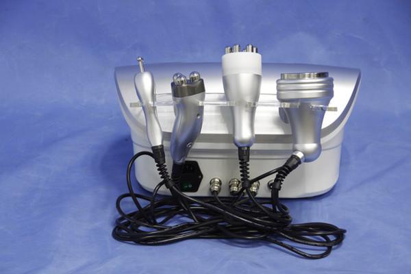 Para Uso Doméstico 4 em 1 Profissional Multipolar Tripolar RF Ultrasound cavitação, redução de gordura cavitação multifuncional