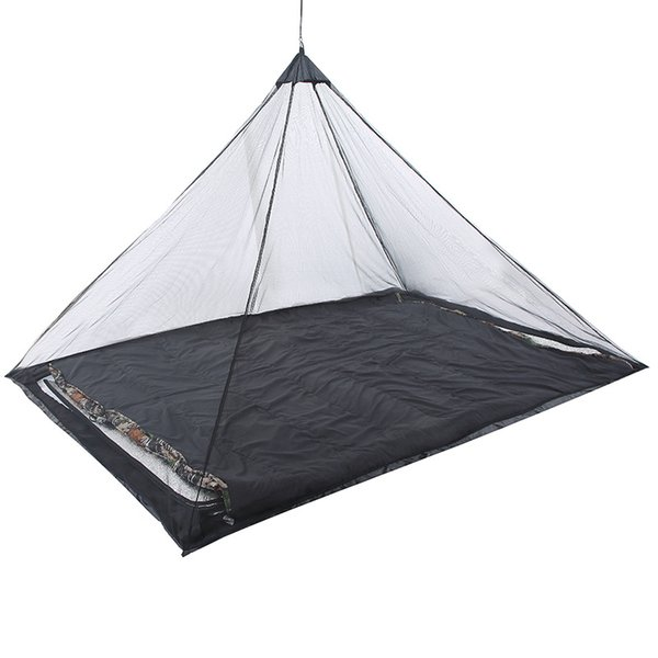 Summer Portable Folding Camping Tents Single Mosquito-Proof Shelters Fishing Traveling Insect Prevention Tent with Ground Stakes Whole Sale
