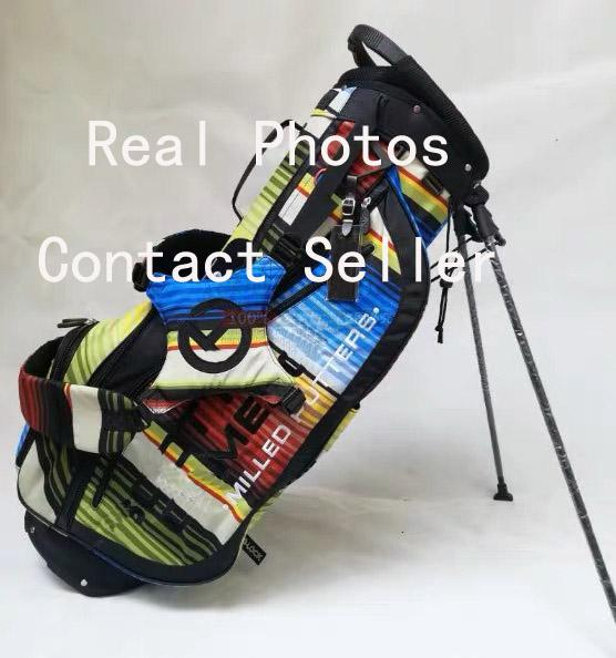 top popular Fast Free Shipping The Latest Model S C Golf Bag Standbag Actual Photos Contact Seller 2019
