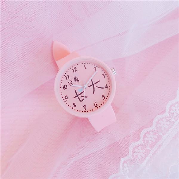 Sommer Gelee Gummi Damen Kleine Zifferblatt Uhr Retro Stil Digitaluhr Chinesische Mode Ins Beliebte Uhr Fabrik Großhandel Explosion Modelle