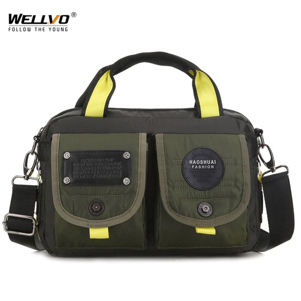 Men Messenger Bag High Quality Waterproof Shoulder Bag Casual Travel Crossbody Bags For Male Satchel Belt Handbag XA81ZC