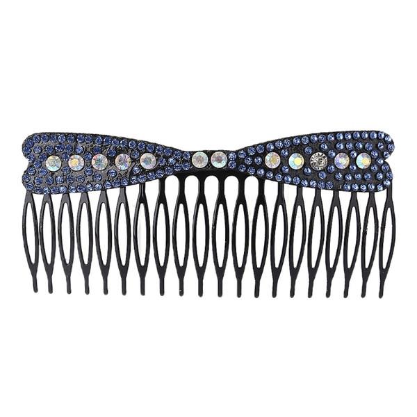 1 STÜCK Frauen Kunststoff Strass DIY Frisur Kamm Clip Rutsche Haarspange Zubehör Styling Werkzeug