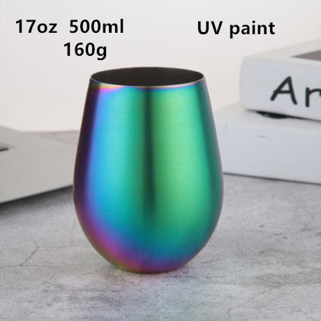 17oz 500ml water drop UV coating