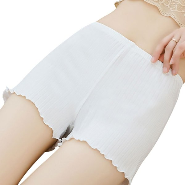 Hot Pants Summer Solid Seamless Underwear Invisible Safe Shorts Soft Women Women's Safety Shorts Pants For Dress boxer femme