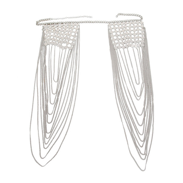 Europäische und amerikanische Mode Quaste Schulter Halskette Körperkette BC141