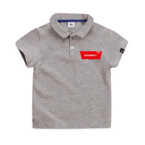 GODODOMAOYI 2020 Sommer Neue Ankunft Heiße Jungen Hemd Kurzarm Jungen Kleidung Kinder Polo Größe 2-6Y Kinder Kleidung Jungen HEIßER VERKAUF Marke