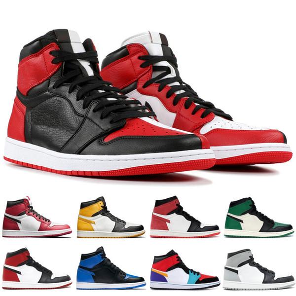 Baskets de sport athlétique 1 1s High OG chaussures de basketball Fearless Chicago royal Track femmes rouges UNC Powder Blue blanc baskets de luxe