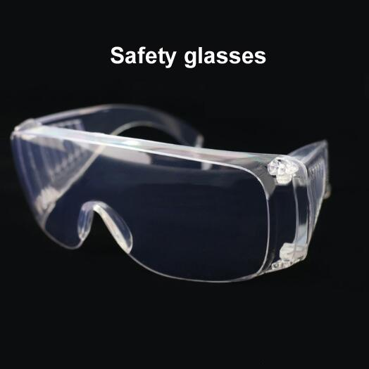 top popular Anti-impact soft edge anti-fog safety goggles labor protection glasses large goggles dustproof transparent safety glasses 2021