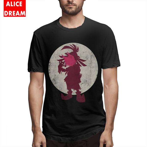 Legend of Zelda Boy A Terrible Fate Black Cool T Shirt Graphic Homme Tee Shirt Algodón puro S-6XL Plus Size Tee