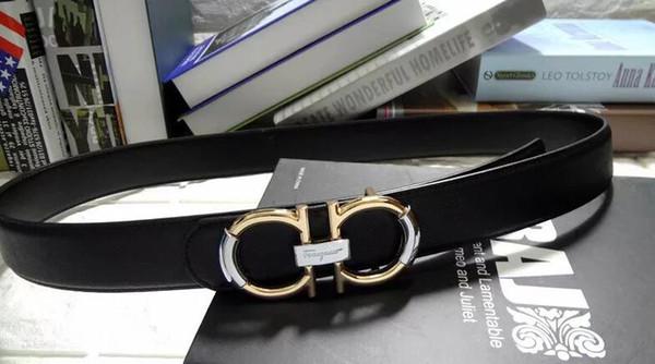 Fashion hot sale Men/Women Belt Luxury Genuine Leather leather Belt for Women/Men Calssic Letter design Smooth Buckle strap