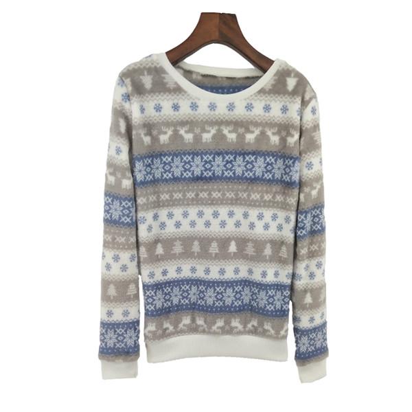 Winter Fashion Pink Stripe And Big Rabbit Harajuku Soft Flannel Hoody Sweatshirt Women High Quality Pullover Tracksuit Tops