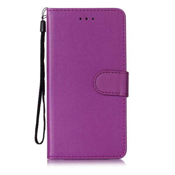 Suitable for Samsung note 10 note10plus solid color card flip wallet PU leather case multi-function anti-fall mobile phone holster