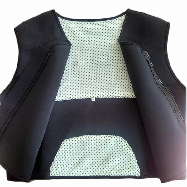 Tourmaline Self-heating Magnetic Therapy Belt Back Corset Shoulders Sweater Vest Waistcoat Warm Back Pain Treatment M L XL XXL #18111