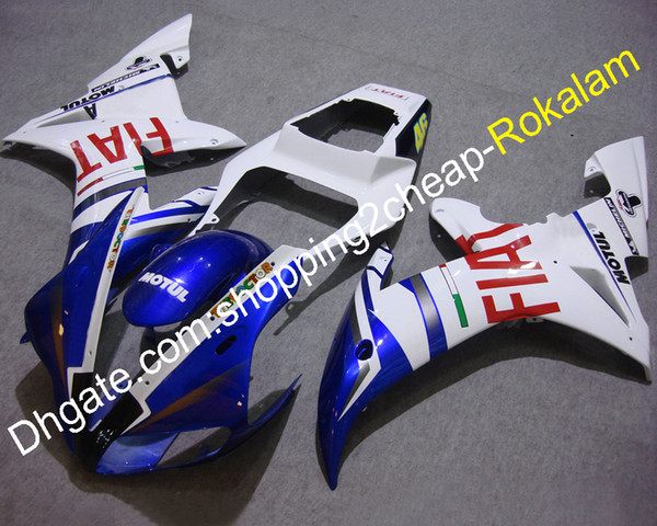 YZF1000 R1 02 03 Full Set Fairing For Yamaha YZF R1 2002 2003 YZFR1 Sport Mototrcycle FIAT Bodywork Fairings (Injection molding)