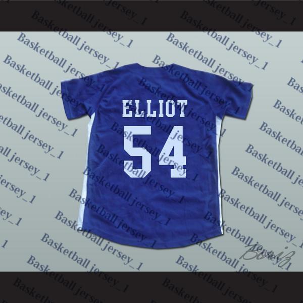 Chunichi Dragons Jack Elliot Mr. Baseball Filme Jersey NOVO Ponto Sewn-3