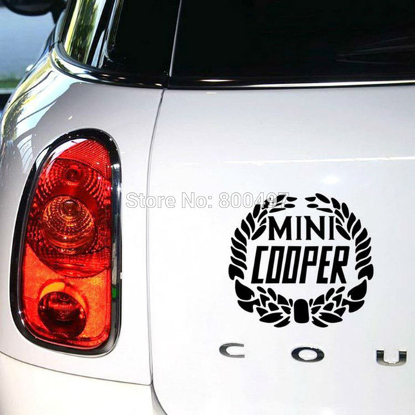 2019 Newest Car Styling Decal Mini Laurel Flower Wheat Stickers For