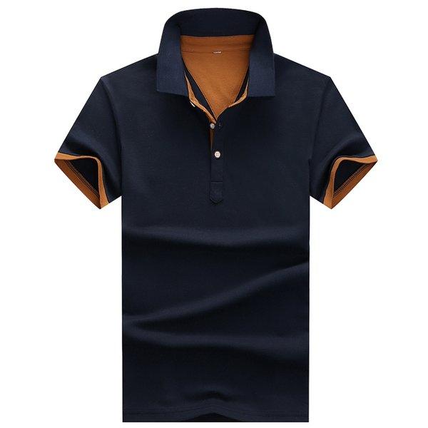 Fashion Poloshirts 2018 Polo Shirts For Men Casual Brand Clothing Business Male Breathable Mens Summer Polos Para Hombre C22 C19041501