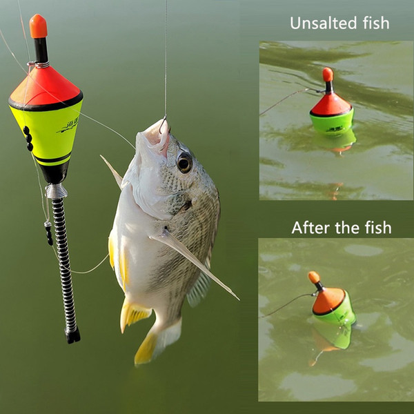 Hot Sale Portable Automatic Fishing Float Fishing Accessories Fast Bobber Set Float Device