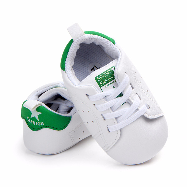 Fashion New Autumn Winter Baby Shoes Girls Boy First Walkers Newborn Shoes 0-18M First Walkers white Non-slip shoes with soft solesshoes