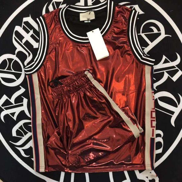 2019 New Tracksuit Jackets Set Fashion Summer Running short Tracksuits Men Sports Suit Letter printing Slim Hoodies Clothing Track Kit Medus