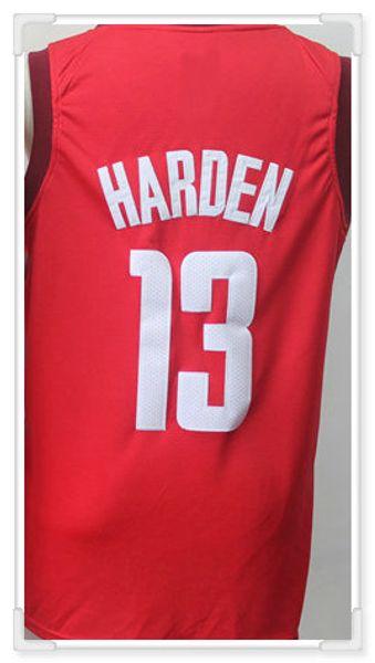 Houston # 13 Harden -red 2 come foto