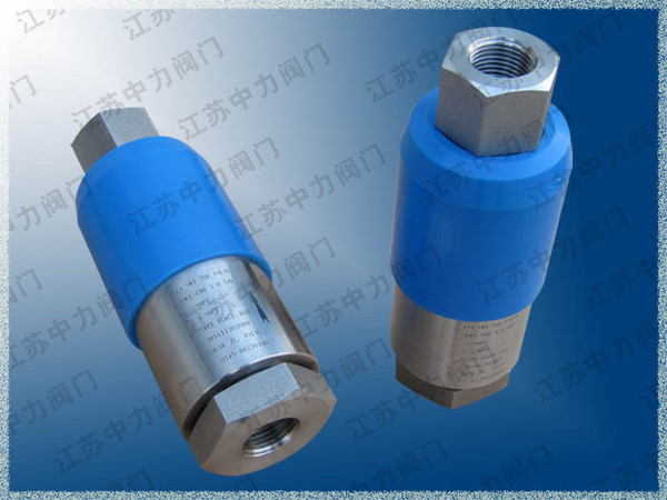 Stainless steel filling station high pressure pull-off valve