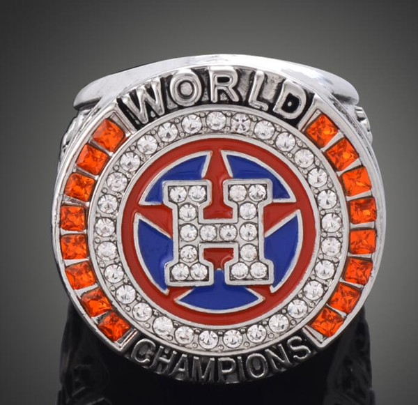 The Newest 2017 Houston Astros World Baseball Championship Ring Altuve Springer Fan Gift wholesale Drop Shipping SIZE 9-12