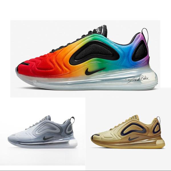 720 Air scarpe da corsa per gli uomini donne 720s Max Athletic Trainers essere vero ritorno al passato Future Triple bianco Volt Black Run Utility Sport Sneakers