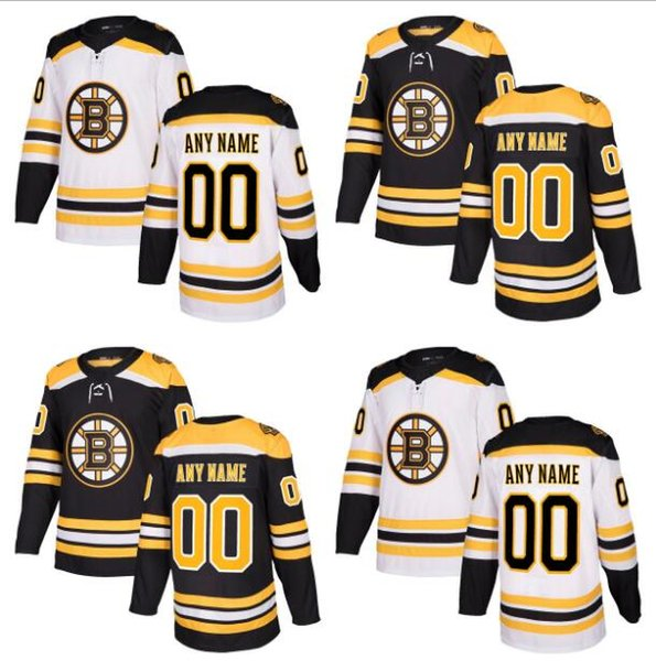new product 89252 6d4af 2019 Lowest Price ! 2017 2018 Season Customized Boston Bruins Jerseys Black  White Custom Ice Hockey Jerseys Stitched Any Name Number Size S XXXL From  ...