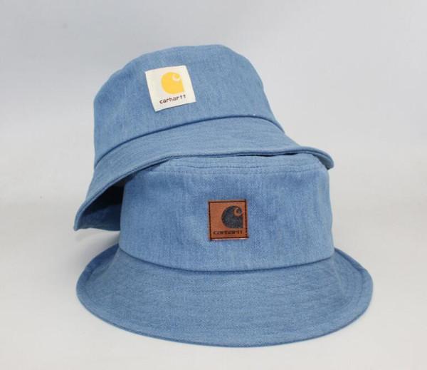 Marka moda lüks tasarımcı Kova Şapka Mens Womens Katlanabilir Balıkçılık Kapaklar Balıkçı Plaj Güneşlik Satış Katlanır Adam Bowler Kap